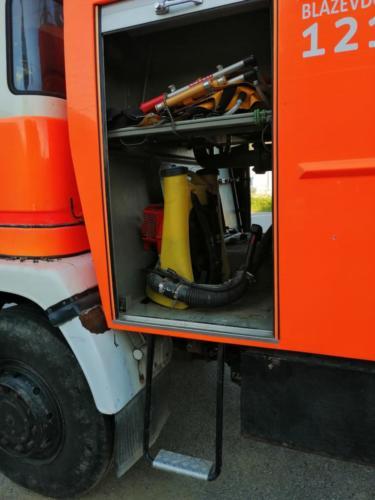 slaganje opreme kamion 2