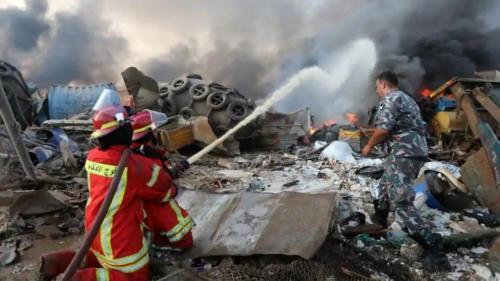 firefighters-spray-water-explosion-beirut-fire-following 75313484-d688-11ea-89d7-4307b9472930